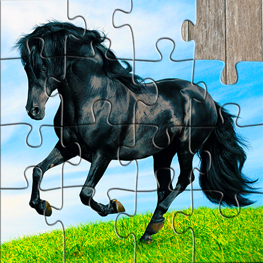 Horse Jigsaw Puzzles Game – For Kids & Adults 🐴25.2