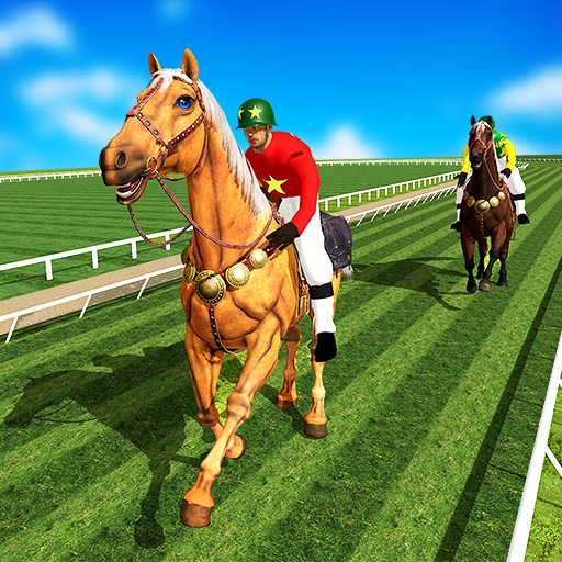 Horse Racing Games 2020: Horse Riding Derby Race 4.5