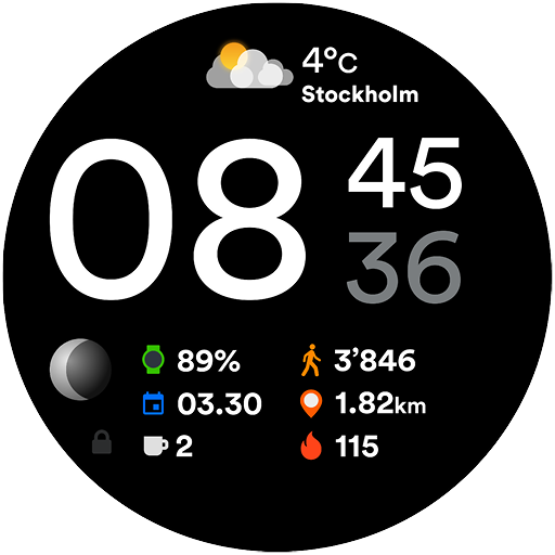 Manager Watch Face 1.11.0