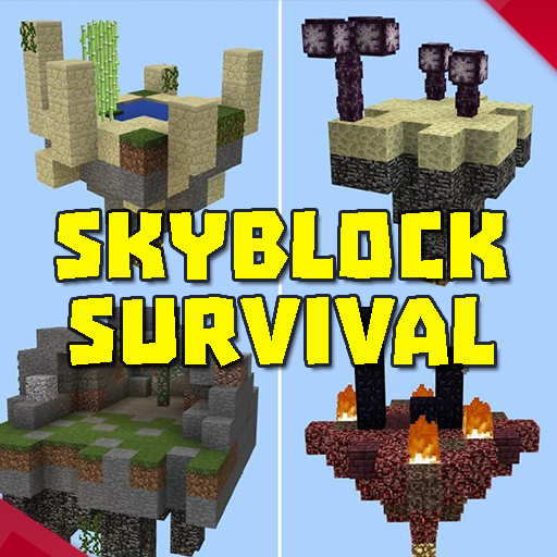 skyblock survival maps for mcpe 2.3.28