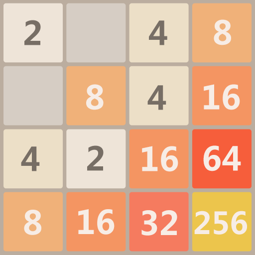 2048 Charm Classic & Free, Number Puzzle Game  5.2502