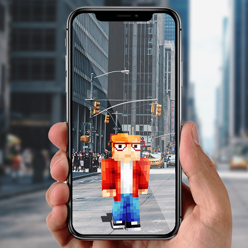 AR Minecraft skins Visualiser in Augmented Reality 11