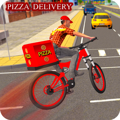 BMX Bicycle Pizza Delivery Boy 2019 2.0