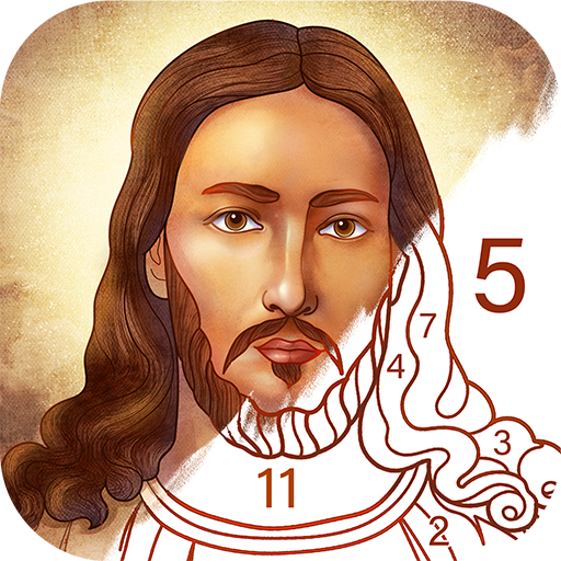 Bible Coloring Paint by Number, Free Bible Games  2.22.0
