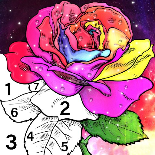 Color By Number & Paint By Number – Coloring Book 6.0