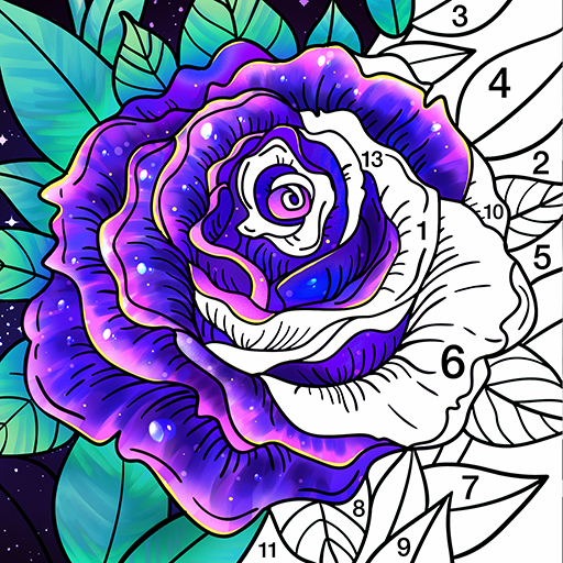 Coloring Book Color by Number & Paint by Number  2.0.6