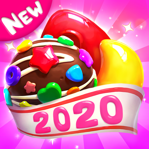 Crazy Candy Bomb Sweet match 3 game  4.6.8