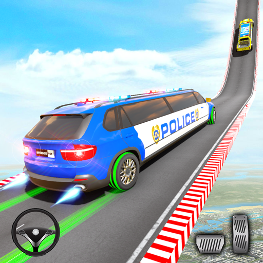 Police Limo Car Stunt Games 3D  3.6