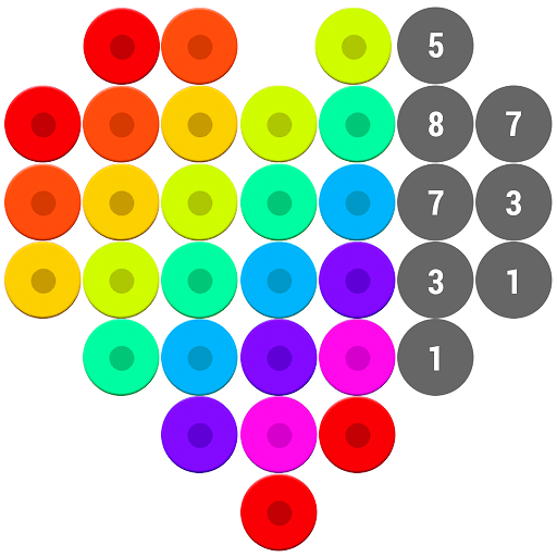 Mosaic Color by Number – Hex Puzzle Beads For Kids  1.7