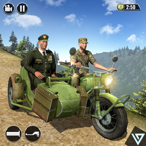 US Military Transporter: Army Truck Driving Games