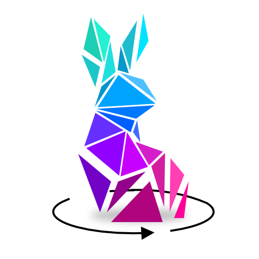3D low poly puzzle game, rotate puzzles