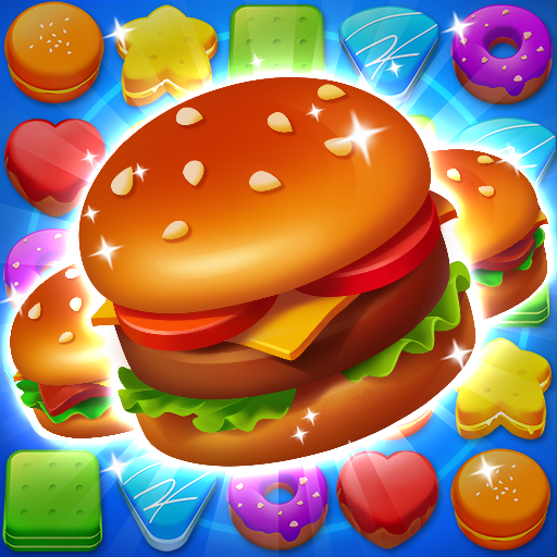 Cooking Crush Legend – Free New Match 3 Puzzle