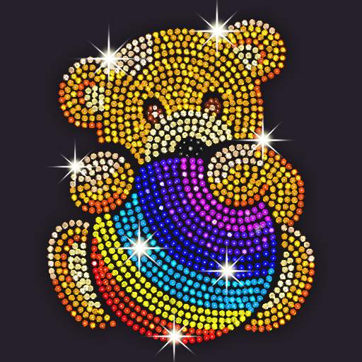 Diamond Coloring Sequins Art & Paint by Numbers  1.5.7