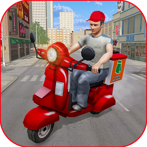 Moto Bike Pizza Delivery Games 2021: Food Cooking