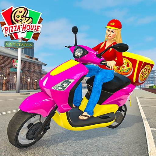 Moto Bike Pizza Delivery – Girl Food Game