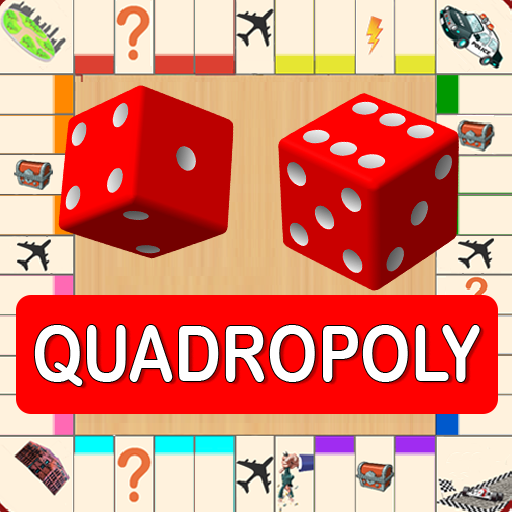 Quadropoly Best AI Board Business Trading Game  1.78.83