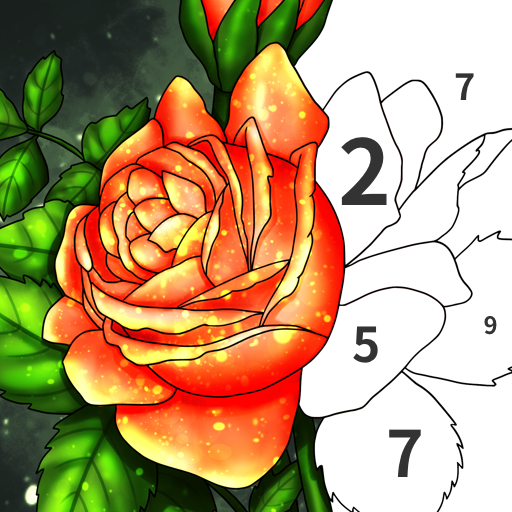 Art Number Coloring Color by Number  4.1.4