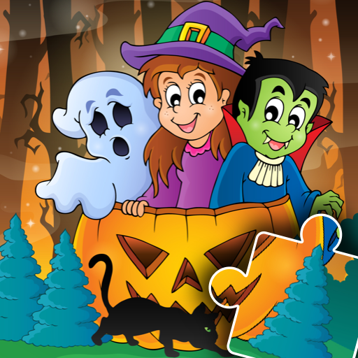 Halloween Puzzle for kids & toddlers 🎃