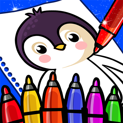 Happy Coloring Book Learn Paint : Coloring Games