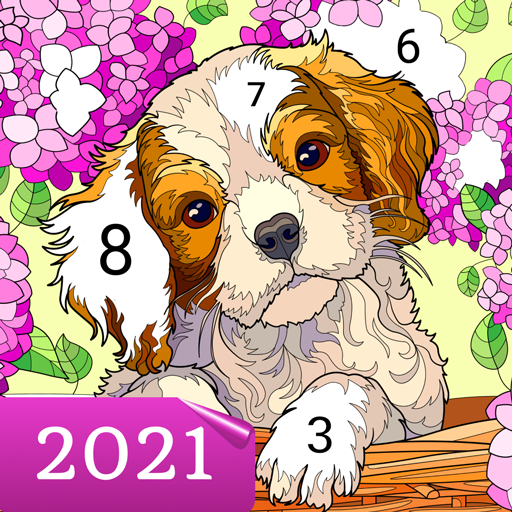 Happy Canvas™ – Color by Number Book  2.1.2