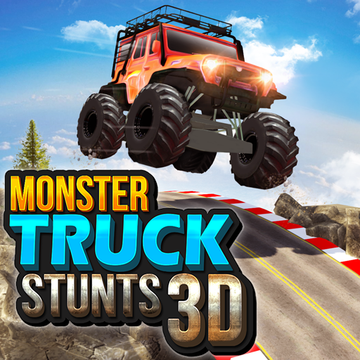 Monster Truck Game: Impossible Car Stunts 3D