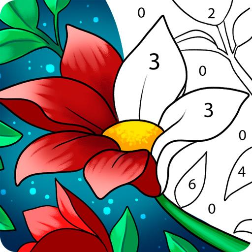 Paint by Number: Free Coloring Games – Color Book