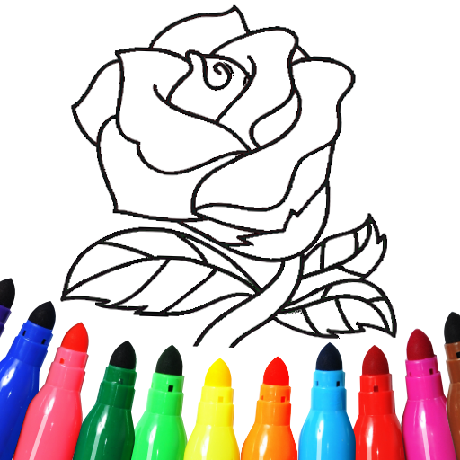 Valentines love coloring book  16.2.6