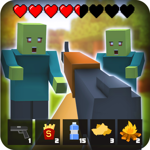 Zombie Craft Survival 3D: Free Shooting Game