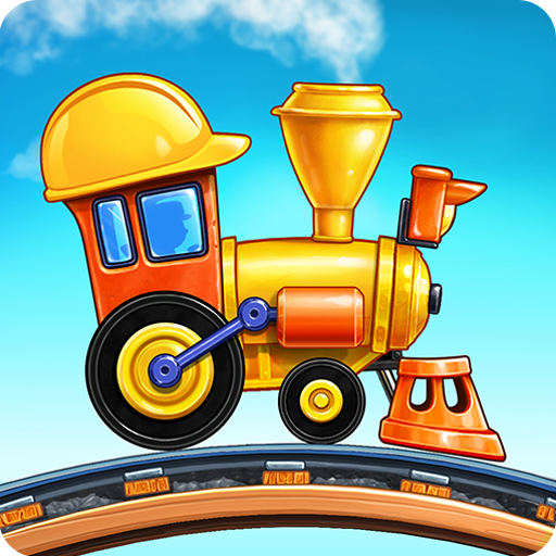 Train Games for Kids: station & railway building  4.1.6