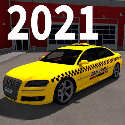 Real City Taxi Simulator 2021 : Taxi Drivers