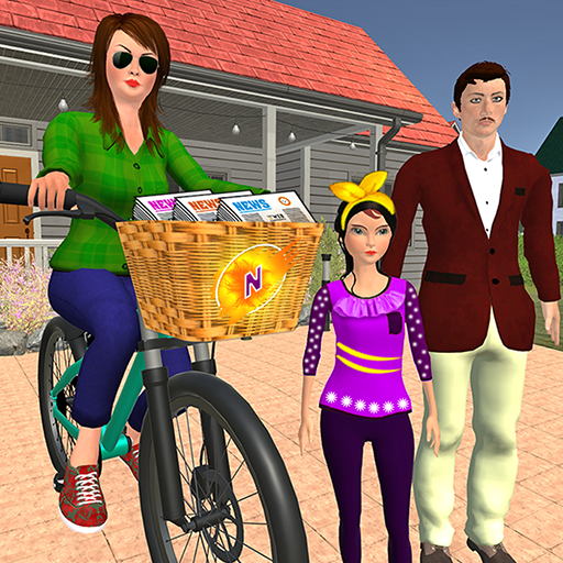 Working Mom Newspaper Girl Family Games 1.23