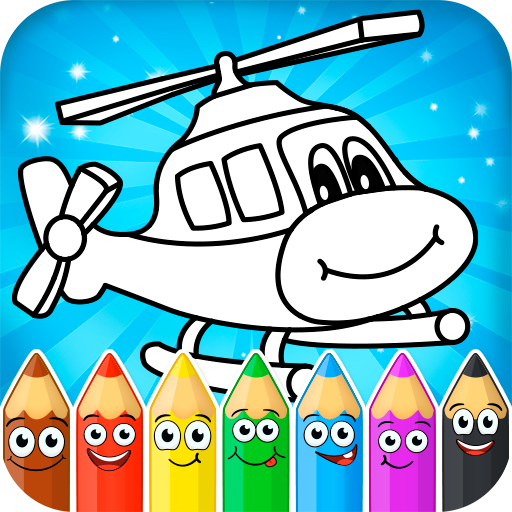 Coloring pages for children : transport  1.2.7