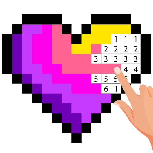 Pixel Art Color by number – Coloring Book Games 2.5