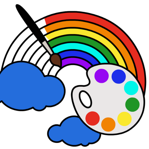 Coloring Games for Kids – Drawing & Color Book 4.5.2