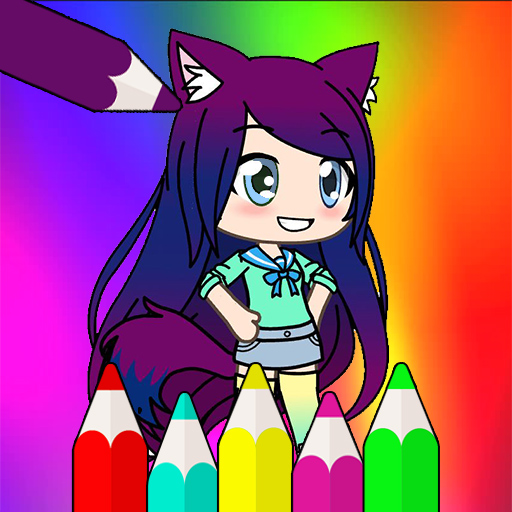Coloring Pages for Gacha Life 1.1.5
