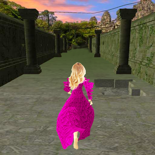 Princess in Temple. Game for girls 1.13K