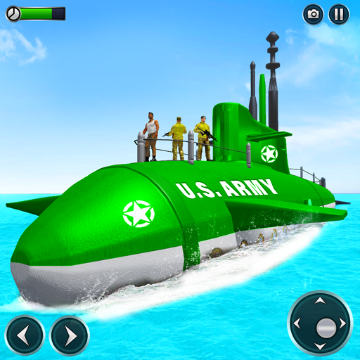 US Army Submarine Driving Military Transport Game 3.6