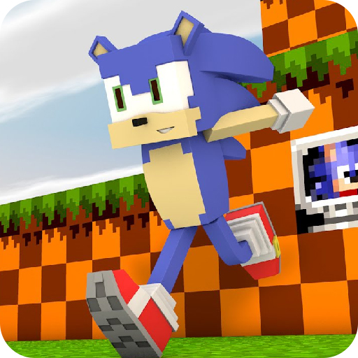 Sonic For Minecraft Free Skins Addon and New Map! 1.0